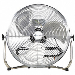 Air Circulator, 20 In, 3390 cfm, 115V