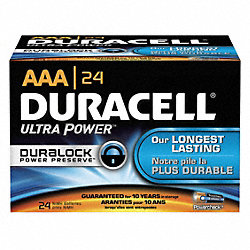 Battery, AAA, Performance Alkaline, PK 24