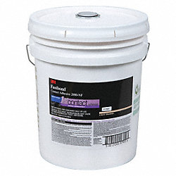 Contact Adhesive, Pail, 5 gal, Orange