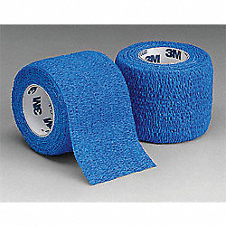 Self-Adherent Wrap, Blue, 1 Inx 5 yd, PK30