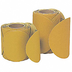 PSA Disc Roll, No Hole, 6 In, 80G, AlO, PK400