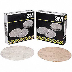 PSA Sanding Disc, Poly, 6in, P600G, PK400