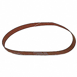 Sanding Belt, 1/4 Wx24 In L, CA, 40G, PK200