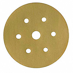 Disc, Sanding, 5 Hole, 5 in, Med, P100G, PK400