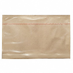 Packing List Envelope, Clear, PK 500