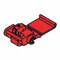 Connector, Red, 2 Ports, 22-16AWG, PK 5000