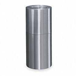 Waste Container, Flip Top, Aluminum, 15G