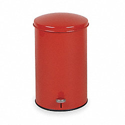 Step On Container, Red, 3 1/2G