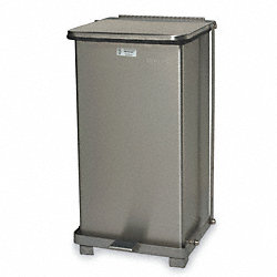 Waste Container, 23 In. H, 12 In. W