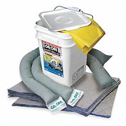 Spill Kit, 15-1/4 In H, 5 gal., Universal