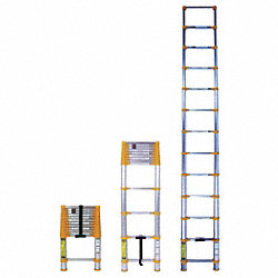 Telescoping Ladder, , II, Aluminum