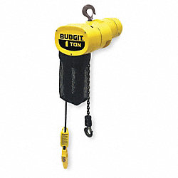 Electric Chain Hoist, 1000 lb., 16 fpm