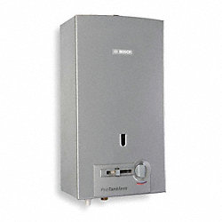 Tankless Water Heater, Liquid Propane Gas