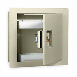 Wall Safe, Keyable, 475 Cu-In