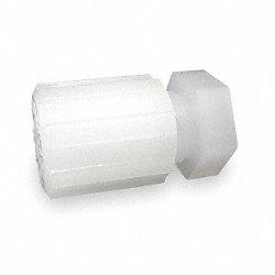 Tubing Plug, With Nut, 1/2 In Tube Sz