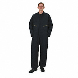 Coverall, Chest 56In., Navy