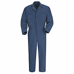 Coverall, Chest 52In., Navy
