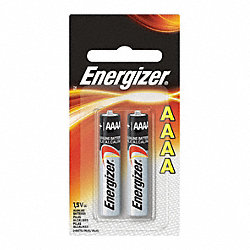 Battery, AAAA, Alkaline, PK 2