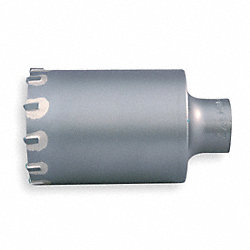 SDS Plus Core Bit, 2 1/2  In, 3 In D