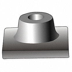 Hammer Steel 1 1/8 Hex, Tamper Plate, 8 In