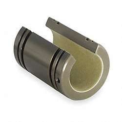 Plain Bushing Bearing, Open, ID 0.375 In