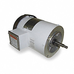 Washdown Motor, 3 Ph, TEFC, 1 HP, 3450 rpm