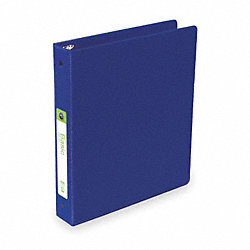 Binder, Basic, O-Ring, 1 1/2, Vinyl, Blu