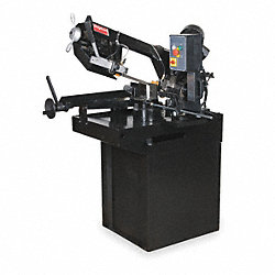 Horizontal Miter Band Saw, Wet, 115V, 1 HP