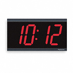Digital Clock, 915MHz RF, 4In Readout