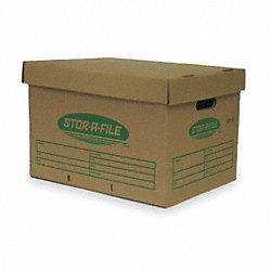 Storage Box, Ltr/Lgl, Lift Off, PK25