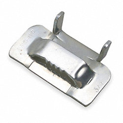 Strapping Buckle, 3/4 In., Banding, PK50