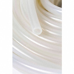 Silicone Tubing, 1 1/4 In OD, 25 Ft