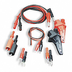 Power Supply Test Lead Kit, 60 In. L