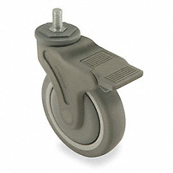 Swivel Stem Cstr w/Totl Lock, 5 In, 280 lb