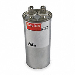 Run Capacitor, 30 MFD, 370 VAC, Round