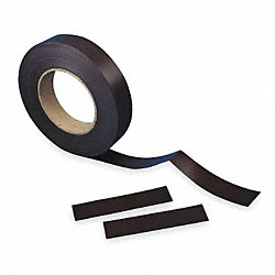 Magnetic Label Roll, Perforated, 50 Ft, Blk