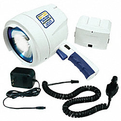 Spotlight, 12 VDC, Rechargeable