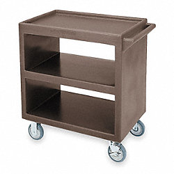 Service Cart, 27x19 1/2, 2 Swivel
