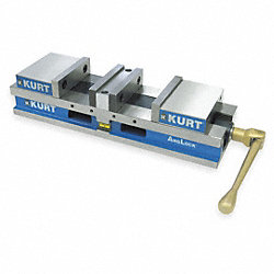 Flat Vise, HDL, 6 In, 6356 Lbs of Force