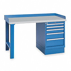 Industrial Workbench, 60Wx30Dx35-1/4In H
