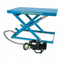 Scissor Lift Table, 2200 lb., 230V, 3 Phase