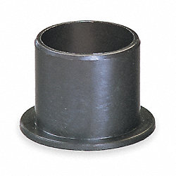 Flanged Bearing, 3/8 IDx1/2 In L, Pk 2