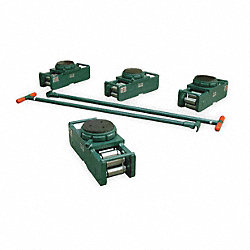Equipment Roller Kit, 400, 000 lb., Swivel