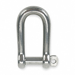 Screw Pin Shackle, Body, 3000 Lb, 7/16 In