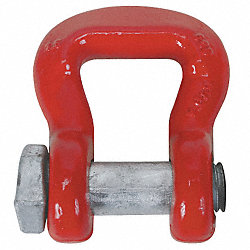 Web Sling Shackle, Screw Pin, 100, 000 Lb