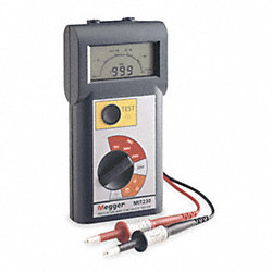 Battery Operated Megohmmeter, 250/1000VDC