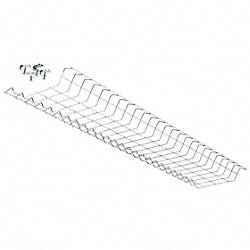 Wire Guard, 48 In, Zinc