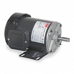 Mtr, 3 Ph, 1 HP, 1725, 208-230/460V, Eff 77.0
