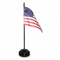 US Desk Flag Set