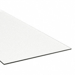 Film, Poly, Clear, 0.005x24x24 In